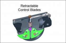 Retractable Control Blades